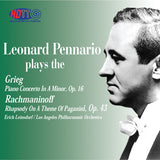 Leonard Pennario Plays Grieg: Piano Concerto in a Minor, Op. 16 & Rachmaninoff: Rhapsody on a Theme of Paganini, Op. 43 - Erich Leinsdorf Conducts the Los Angeles Philharmonic Orchestra
