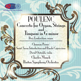 Poulenc Concerto In G Minor For Organ, Strings And Timpani - Munch - BSO - Chausson Poeme - Saint-Saens Introduction and Rondo Capriccioso - Munch - BSO - Oistrakh, Violinst