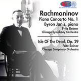 Rachmaninov Piano Concerto No. 1 - Byron Janis, piano & Isle of the Dead, Op. 29 - Fritz Reiner Chicago Symphony Orchestra