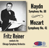 Haydn: Symphony No. 88 & Mozart: Symphony No. 41 - Fritz Reiner Conducts the Chicago Symphony Orchestra