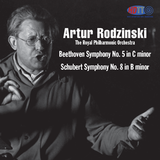 "Artur Rodzinski conducts Beethoven Symphony No. 5 & Schubert ""Unfinished"""