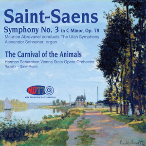 Saint Saens Symphony No  3 in C minor, Op  78 The Utah Symphony conducted  by Abravanel - Carnival of the Animals Vienna State Opera Orchestra