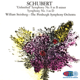 Schubert Symphony No. 3 and 8 -  William Steinberg - Pittsburgh Symphony Orchestra