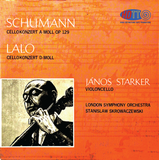 Schumann & Lalo Cello Concertos - Janos Starker, cello