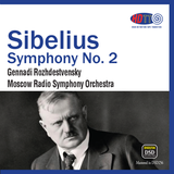 Sibelius Symphony No. 2 In D - Gennadi Rozhdestvensky Moscow Radio Symphony Orchestra (Pure DSD)