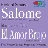 Richard Strauss Salome excerpts - Falla El amor brujo - Reiner - Chicago Symphony Orchestra