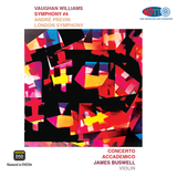 Vaughan Williams Symphony No. 4 - Concerto Accademico - André Previn London Symphony (Pure DSD)
