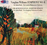 Vaughan Williams Symphony No. 8 & Sullivan Overture Di Ballo - Adrian Boult conducting