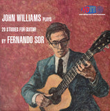 John Williams Plays 20 Studies for Guitar By Fernando Sor