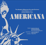 Americana: Choral Masterworks by Roy Harris, Leo Sowerby and Howard Hanson - Roberts Wesleyan College Chorale, Rochester, New York - Robert Shewan, conducting (Pure DSD)