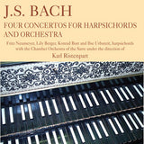 J.S. Bach: Four Concertos for Harpsicords and Orchestra - Karl Ristenpart Conducts the Chamber Orchestra of the Sarre