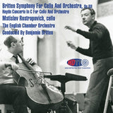 Britten: Symphony for Cello and Orchestra & Haydn: Concerto in C for Cello and Orchestra - Benjamin Britten Conducts the English Chamber Orchestra