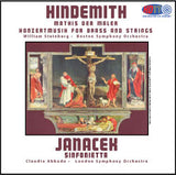 Hindemith: Mathis der Maler and Konzertmusik for Brass and Strings & Janácek: Sinfonietta - William Steinberg Conducts the Boston Symphony Orchestra & Claudio Abbado Conducts the London Symphony Orchestra