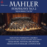 Mahler Symphony No. 2, Resurrection - Houston Symphony Chorus; Texas Music Festival Orchestra, Franz Anton Krager, conductor - Available in 5.0 Surround Blu-ray Audio