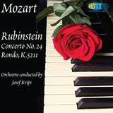Mozart Concerto for Piano No. 24 In C Minor, K.491 - Rondo in A Minor, K.511 - Artur Rubinstein, piano - Josef Krips conductor