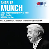 Charles Munch conducts Boston Symphony Orchestra in Ravel, Ibert, Debussy