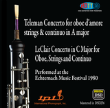 Teleman Concerto for oboe and Leclair Concerto for oboe (Live Recording) - International Phonograph, Inc. (Pure DSD) IPI