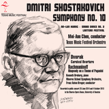 Shostakovich Symphony No. 10; Huang Saibei Dance; Dvorak Carnaval Overture; Rachmaninoff Paganini Rhapsody - Available in 5.0 Surround Blu-ray Audio