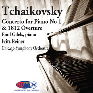 Tchaikovsky: Piano Concerto No  1 & 1812 Overture - Fritz Reiner Conducts  the Chicago Symphony Orchestra