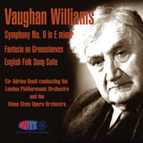 Vaughan Williams: Symphony No. 9, Fantasia on Greensleeves - Sir Adrian Boult London Philharmonic Orchestra & Vienna State Opera Orchestra