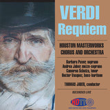 Verdi Requiem - Houston Masterworks Chorus and Orchestra, Thomas Jaber, conducting - Available in 5.0 Surround Blu-ray Audio