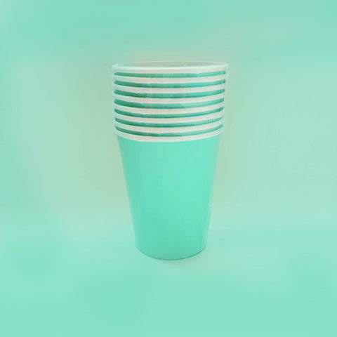 Bright Mint Cups