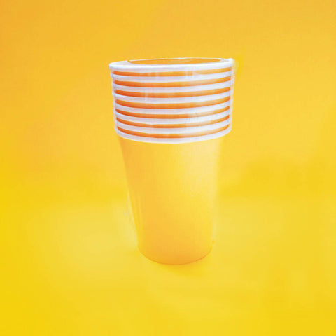Sunshine Yellow Cups