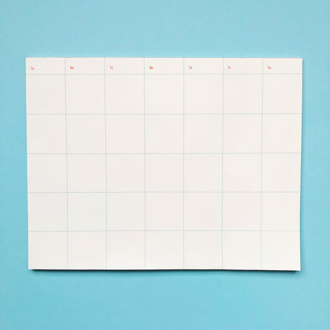 Shorthand Calendar Notepad
