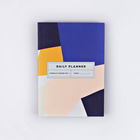 Overlay Shapes No. 1 Daily Planner Book