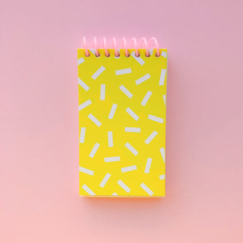 Sprinkle Notepad - 3 x 5