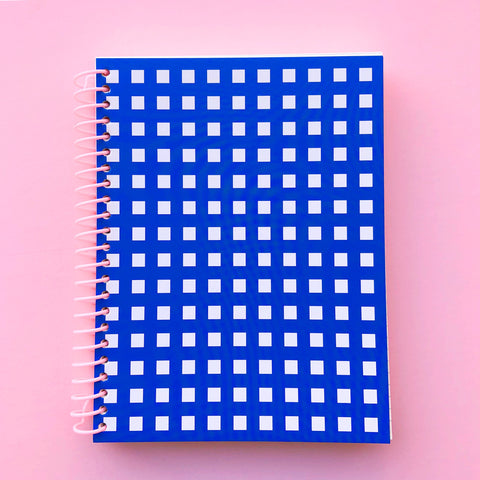 Windowpane Notebook - 6 x 8