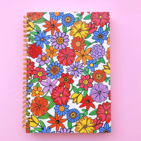 Beautiful Days Flora Notebook