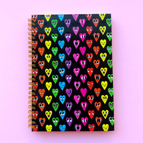 Beautiful Days Happy Hearts Notebook