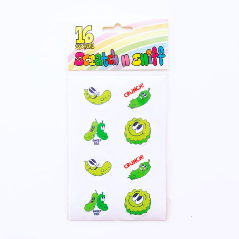 Beautiful Days Scratch and Sniff Stickers - Pickles