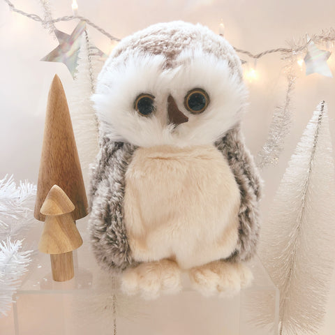 Snuggly Stuffed Papa Owl