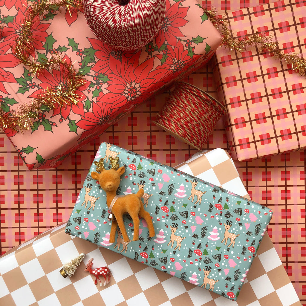 Forest Friends Gift Wrap - Holiday 2020