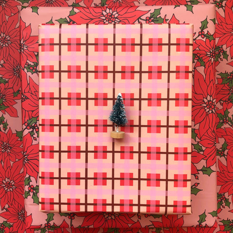 Shortcake Plaid Gift Wrap - Holiday 2020