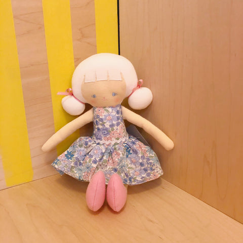 Audrey Doll with Liberty Dress
