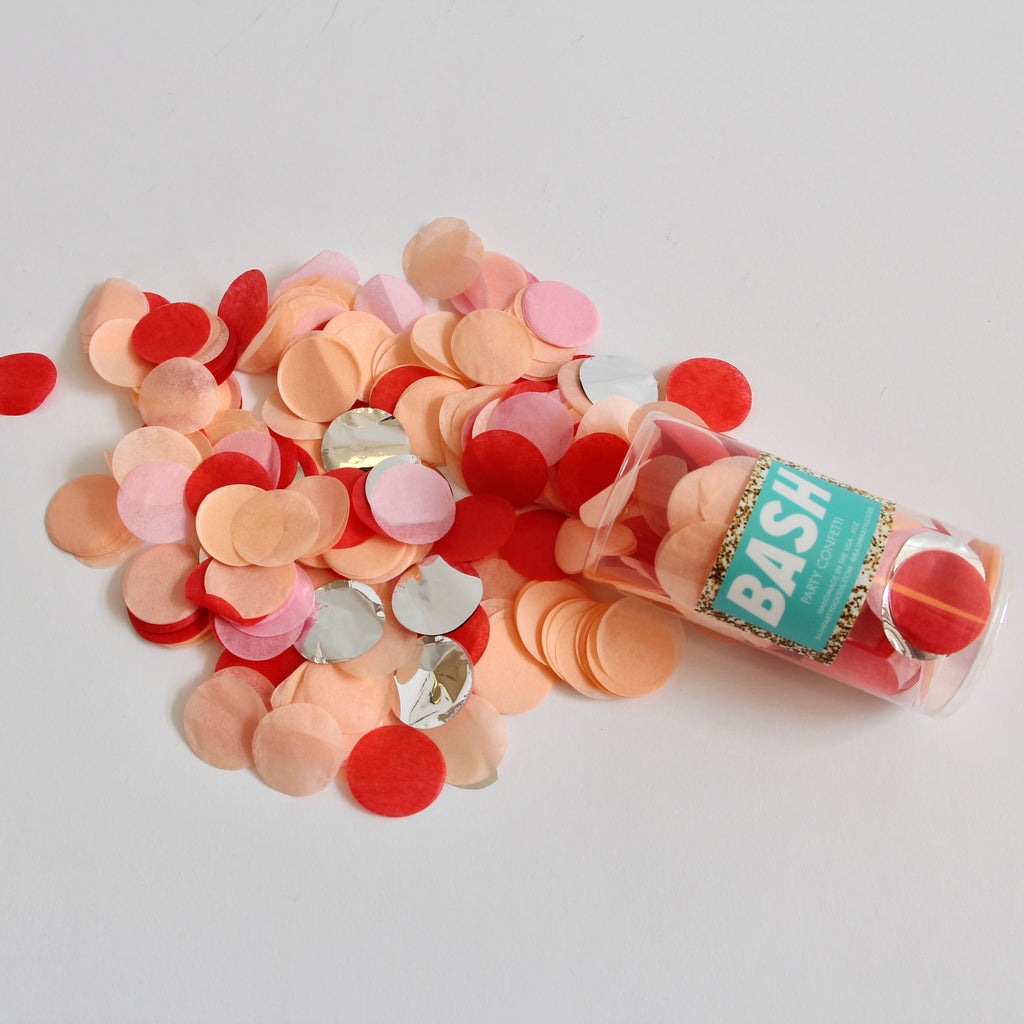 Peachy Vibes Party Confetti