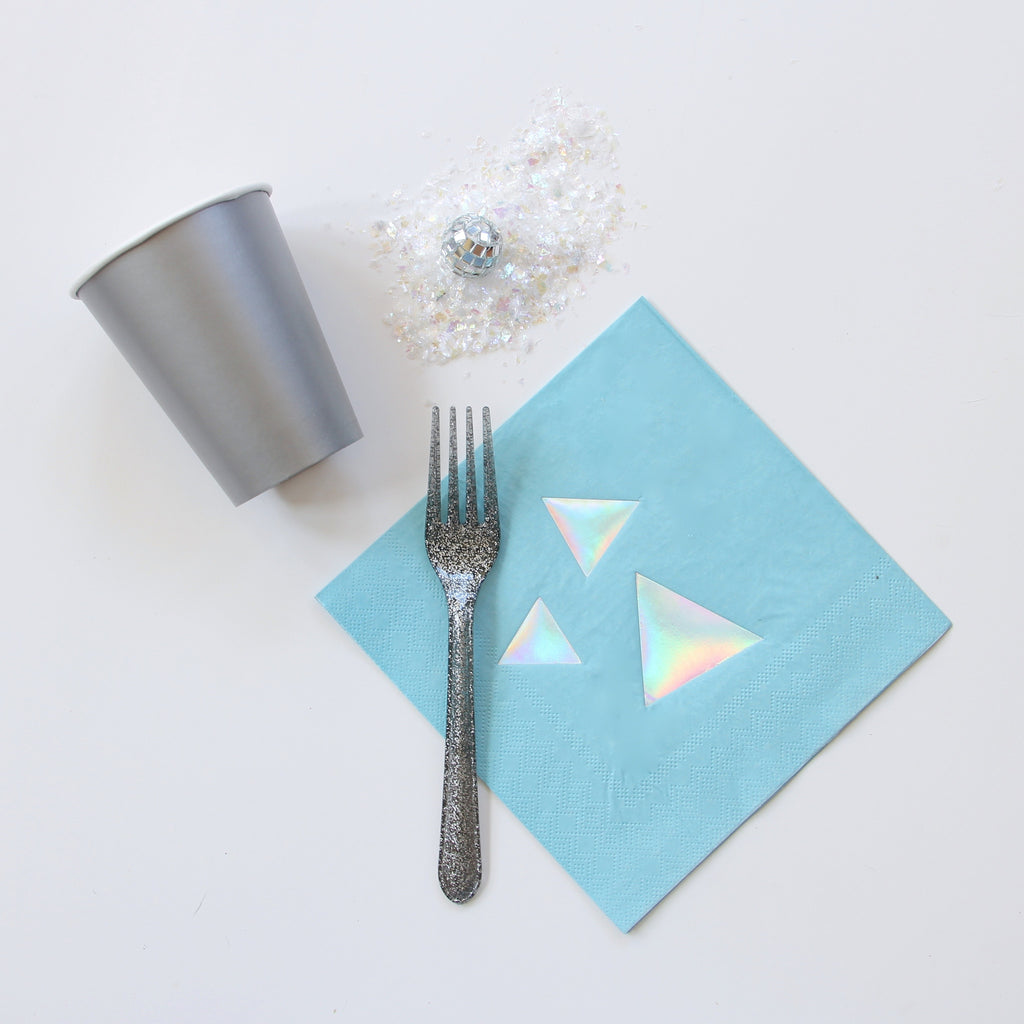 Disco Diamond Foil Napkins