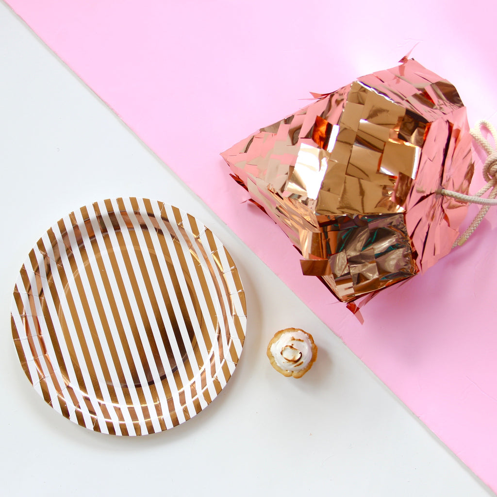 Copper Luxe Large Plates