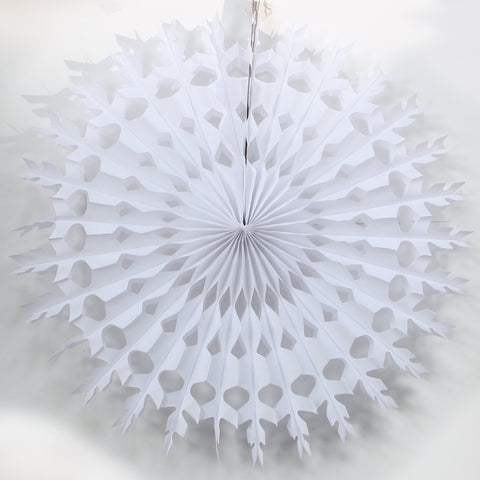 White Snowflake Decoration - 28 Inch