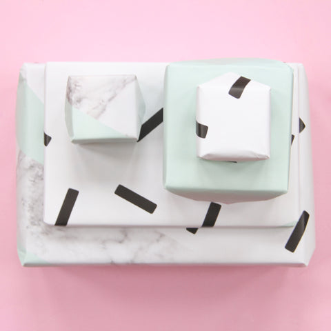 Mint Sprinkles Gift Wrap