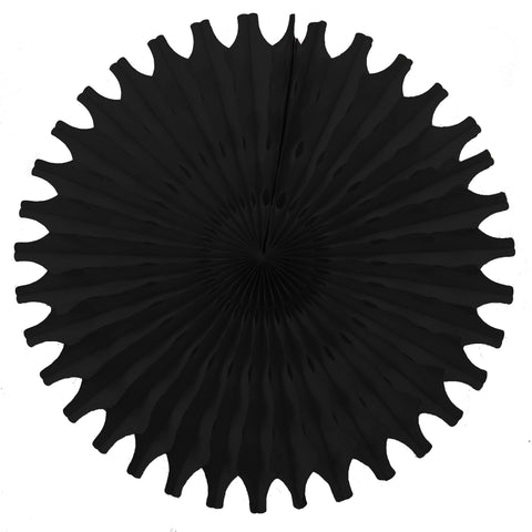 Black Tissue Fan - Small