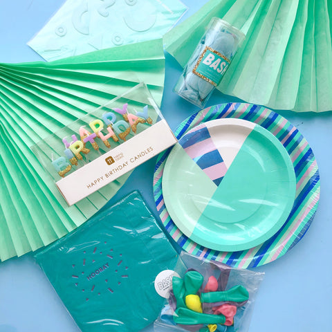 Mint Pastels Birthday Box