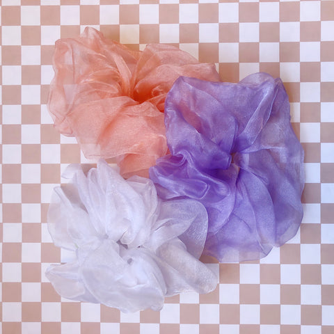 Organza Cloud Scrunchie - Room Shop