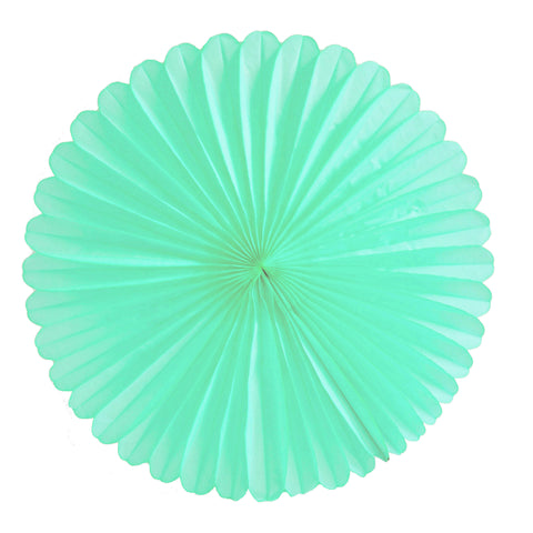 Mint Tissue Fan - Large