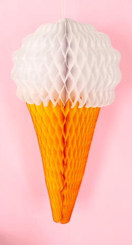 Vanilla Ice Cream Cone - 20 Inch
