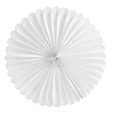 White Tissue Fan - Large