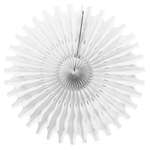 White Tissue Fan - Small
